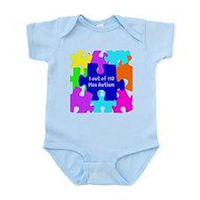 Puzzle Piece autismawareness2012 Infant Bodysuit