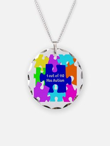 Puzzle Piece autismawareness2012 Necklace