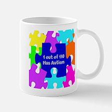 Puzzle Piece autismawareness2012 Mug