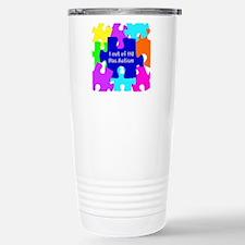 Puzzle Piece autismawareness2012 Travel Mug