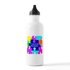 Puzzle Piece autismawareness2012 Water Bottle