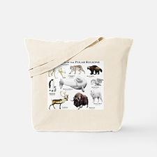 Animals of the Polar Regions Tote Bag