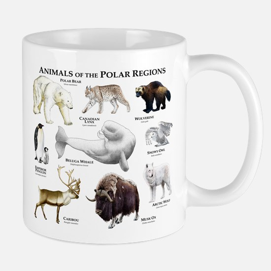 Animals of the Polar Regions Mug