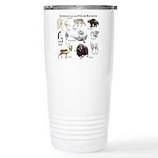 Animals of the Polar Regions Travel Mug