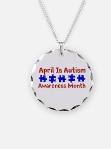 Autism Awareness Month autismawareness2012 Necklac