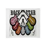 Rock Star Guitars III Throw Blanket