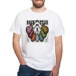 Rock Star Guitars III White T-Shirt