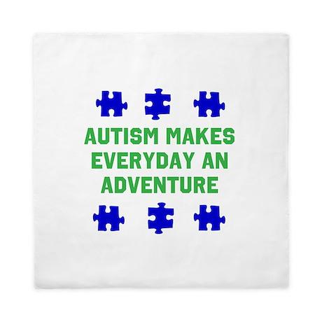 Autism Adventure autismawareness2012 Queen Duvet