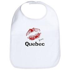 Kisses from Quebec Bib