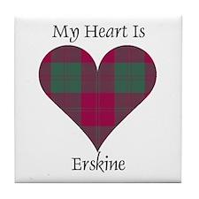 Heart - Erskine Tile Coaster