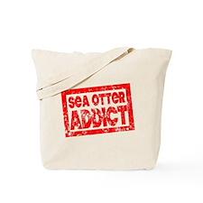 Sea Otter ADDICT Tote Bag