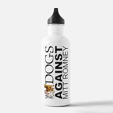 Dogs Against Mitt Romney Water Bottle