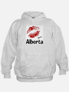 Kisses from Alberta Hoodie