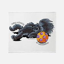 Adorable Affenpinscher Throw Blanket