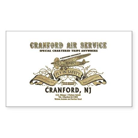 Cranford Air Service Sticker (Rectangle)