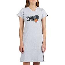 Adorable Affenpinscher Women's Nightshirt