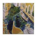"""Gondolier of Venice"" (TM) Tile Coaster"
