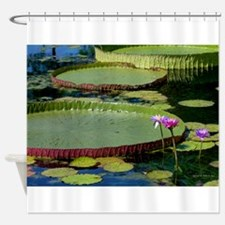 Victoria Lily Pad Shower Curtain