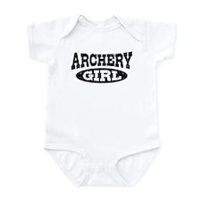 Archery Girl Infant Bodysuit