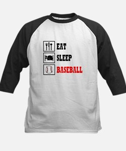 Eat Sleep Baseball Tee