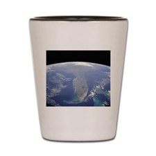 Florida From Space - Shot Glass