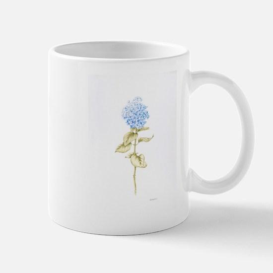 Hydrangea Botanical Mug