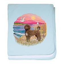 PinkSunset - PWD(brn) baby blanket