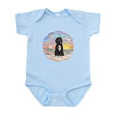 OceanSunrise-PWD5bw Infant Bodysuit