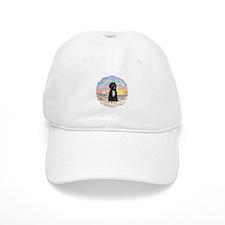 OceanSunrise-PWD5bw Baseball Baseball Cap