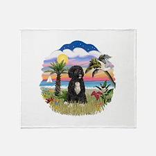 Palms-PWD 5bw Throw Blanket