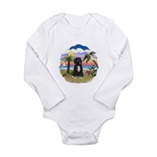 Palms-PWD 5bw Long Sleeve Infant Bodysuit