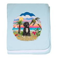 Palms-PWD 5bw baby blanket