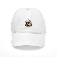 Palms-PWD 5bw Baseball Cap