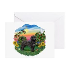 Bright Country - PWD2blk Greeting Card