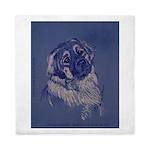 """""""A Dog Understands"""" Leonberger Queen Duvet"""