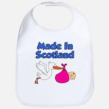 Made In Scotland (Girl) Bib