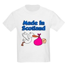 Made In Scotland (Girl) T-Shirt