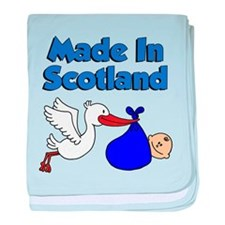 Made In Scotland (Boy) baby blanket