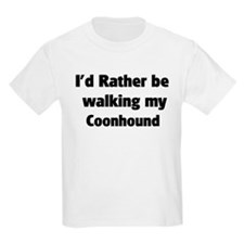 Rather: Coonhound Kids T-Shirt