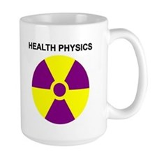 Large Health Physic Coffee Mug