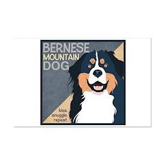 Bernese-Kiss.Snuggle.Repeat. Posters