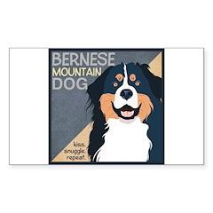 Bernese-Kiss.Snuggle.Repeat. Decal
