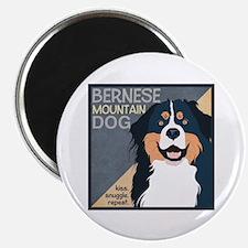 Bernese-Kiss.Snuggle.Repeat. Magnet