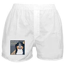 Bernese-Kiss.Snuggle.Repeat. Boxer Shorts