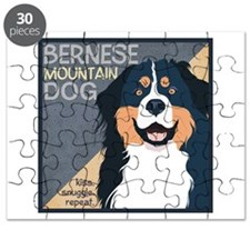 Bernese-Kiss.Snuggle.Repeat. Puzzle