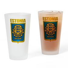 """Estonia Gold"" Drinking Glass"