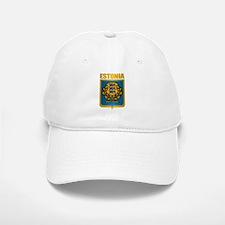 """""""Estonia Gold"""" Baseball Baseball Cap"""