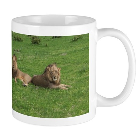 Mug with Lions in Botswana