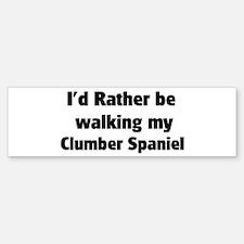 Rather: Clumber Spaniel Bumper Bumper Bumper Sticker