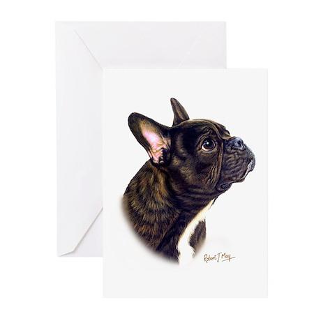 French Bulldog Greeting Cards (Pk of 10)
